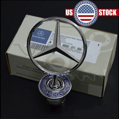 Hood Ornament Mercedes Benz S500 C230 C240 C280 C320 CLK320 E300 E320 E420 W123