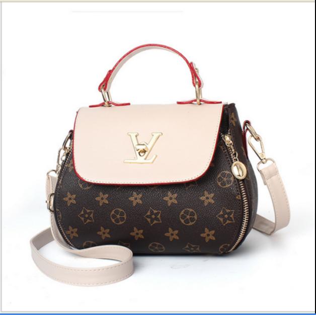 Damen Tasche Shopper Handtasche Schultertasche Umhängetasche Damentaschen Neu! Beige & Star