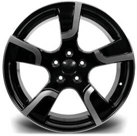 """NEW 20"""" VW T5 TRANSPORTER SPORTLINE ALLOY WHEELS X4 BOXED 5X120 LOAD RATED T5 T5.5 T6 CAMPER"""