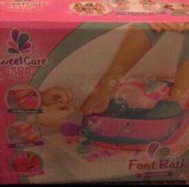 Brand new girls foot spa/bath