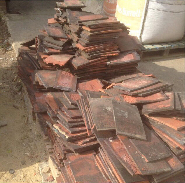 Reclaimed Red Clay Tiles
