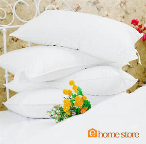 **SPECIAL OFFER** 4 X DUCK FEATHER & DOWN 5 STAR HOTEL QUALITY PILLOWS