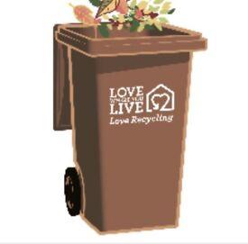 Garden waste bin