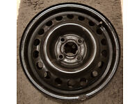 """Original Vauxhall 14"""" Steel Wheels & Covers - Excellent Condition"""
