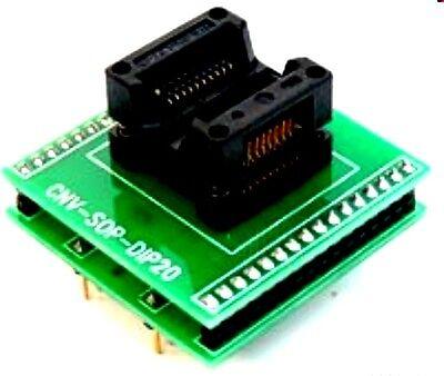 Adapter Adp-027 Soic20-dip20 Cnv-sop-dip20 Soic