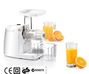 Cold Press Slow Fruit Juicer Juice Extractor Fountain, Brand New, Postage Free!