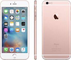 iPHONE 6S PLUS 64GB, WITH SHOP RECEIPT & WARRANTY, ROSE GOLD