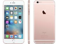 iPHONE 6S PLUS 32GB, SHOP RECEIPT & WARRANTY, ROSE GOLD
