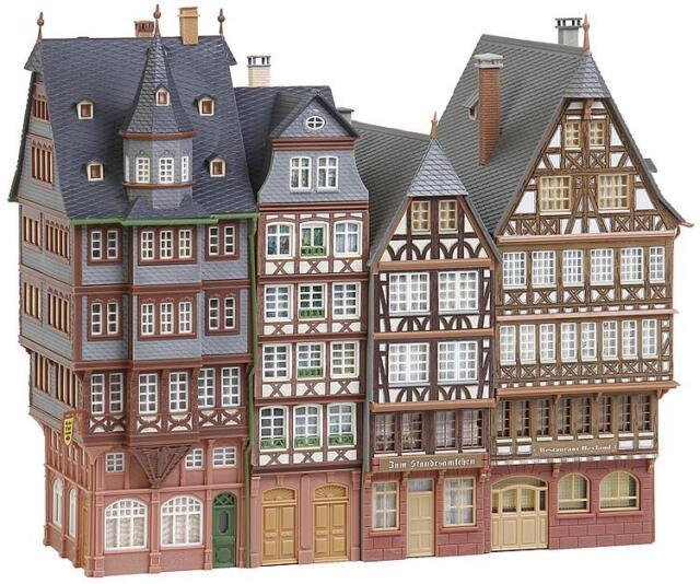 FALLER 190278 Stadthäuserzeile 241x108x200mm Marktstraße NEU&OVP
