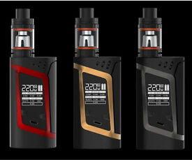 Brand new sealed authentic Smok Alien kits red,grey,gold £50 each