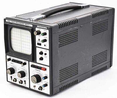 Vintage Hameg Hm312-8 Industrial 0-20mhz Dual Trace Analog Oscilloscope