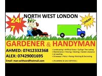 NW LONDON GARDENER LANDSCAPER AND HANDYMAN Wembley, Harrow, Green ford