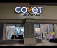 CHAIR FOR RENT at COVET HAIR STUDIO