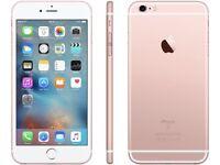 iPhone 6S 16GB, SHOP RECEIPT & WARRANTY, ROSE GOLD