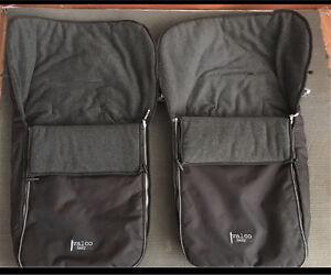 2 x PRAM SLEEPING BAGS. LINERS FOOT MUFFS Smeaton Hepburn Area Preview