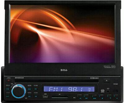 "BOSS AUDIO BV9963I 7"" TOUCHSCREEN MONITOR DVD MP3 CD AM/FM PLAYER CAR STEREO DIN"