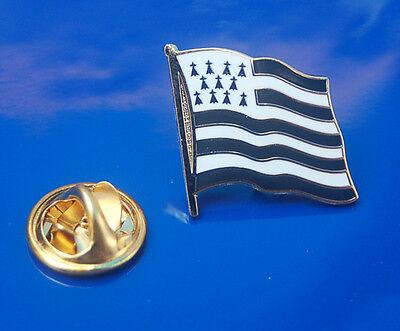Bretagne Pin Button Badge Anstecker Flaggenpin TOP