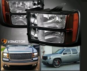 Aftermarket GMC 1500 headlights 2007 to 2013