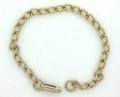 TWENTY FOUR 6 INCH GOLD COLOR CURB CHILDRENS BRACELET CLOSEOUT BELOW COST
