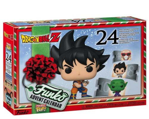 Funko Advent Calendar: Dragon Ball Z Pocket Pop! (2020) - Brand New & Sealed