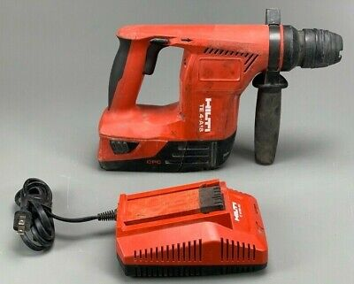 Hilti Te 4-a18 With 5.2ah Battery Charger Cordless Rotary Hammer Drill