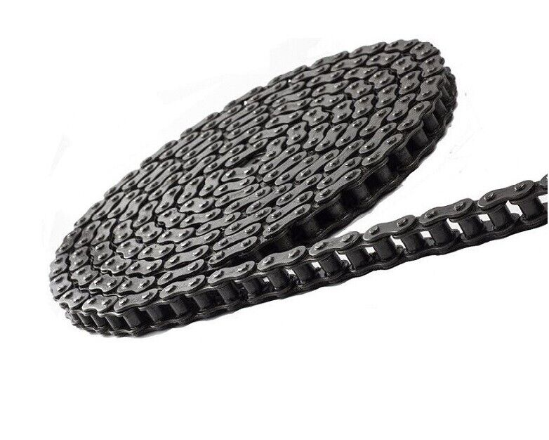 #60 Roller Chain 10 Feet with 2 Connecting Links