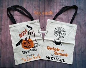 Halloween Bags - Personalized