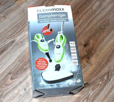 5in1 Dampfreiniger CLEANmaxx Weiß Grün Dampfmop Dampfreiniger Bodenreiniger