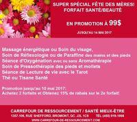 Super Forfait santé/Beauté en promotion à 99$