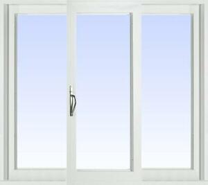 Patio Doors - Sunview Newcastle 3 Panel Vinyl Patio Door - We have a large selection of doors!!