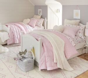 Pottery barn .Catalina twin bed frame.