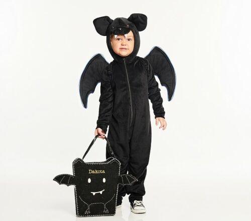 Pottery Barn Kids Halloween Glow Wire Bat Costume 2 Piece Size 3T NWT