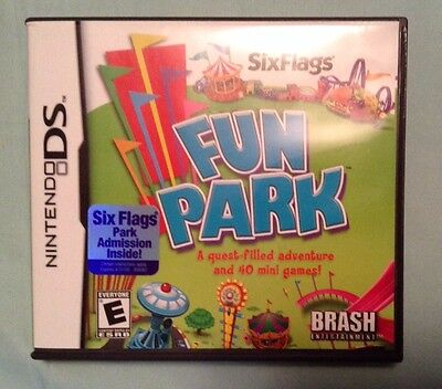 Six Flags Fun Park   Nintendo Ds  2008  Brash Entertainment