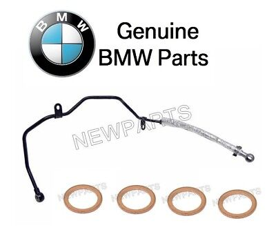 For BMW E46 M3 E85 E86 Z4 Oil Line-Vanos Unit w/ Copper Washer Gasket -