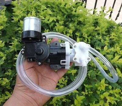 12v Mini High Pressure Water Pump Self-priming Pistons Diaphragm Pressure Pump