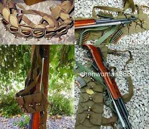 SURPLUS ORIGINAL CHINESE MILITARY SKS TYPE 56 SEMI AMMO CHEST-RIG BANDOLIER