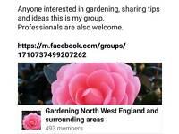 Northwest England and Surrounding Areas gardening group
