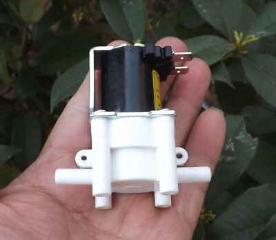 New Electromagnetic Valve Dc24v Electric Water Valve Air Valve Normally Closed