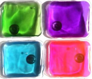 6 pieces of reusable hand warmers. Heating pad. Click it Hot or use it Cold. NEW