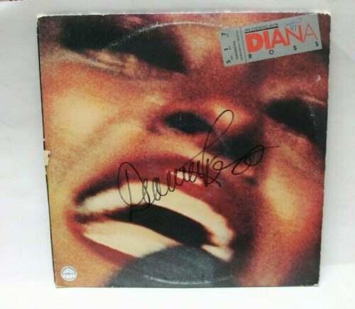 Diana Ross signed Record Album