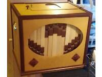 John Smith 20 note Hand Turned Busker Organ