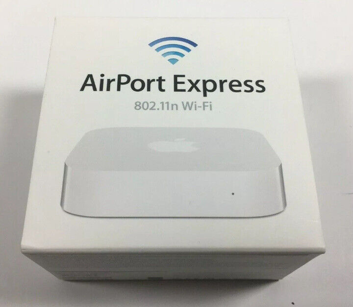 Apple Airport Express 2nd Generation Gen A1392 Dualband 802.11n Router Orig. Box