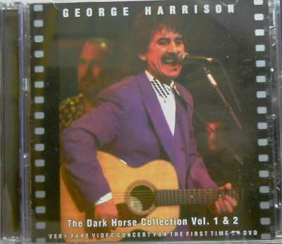 """GERGE HARRISON""""The Dark Horse COLLECTION-RARE VIDEO """" 2 DVD SRS SEALED"""