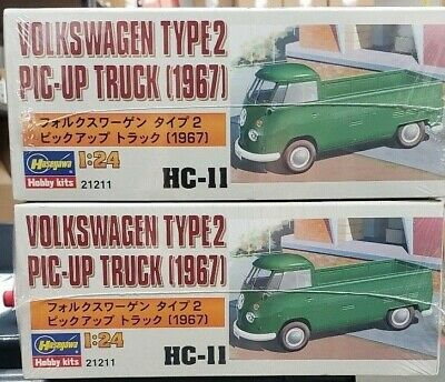 Hasegawa 1/24 Volkswagen Pic-Up Truck Type 2 NIB x 2 kits