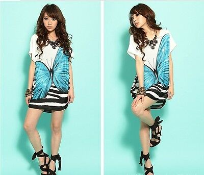 New Bohemian Confortable  Chiffon Ice Cotton Women Lady Mini dresses DB0011 on Rummage