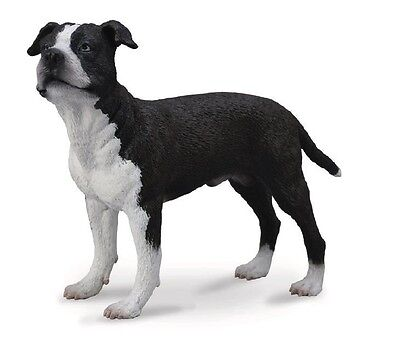 Collecta 88610 American Staffordshire Terrier 3 1/2in Dogs and Cats
