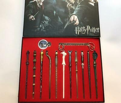 Brand New 11 PCS Harry Potter Hermione Dumbledore Snape Magic Wands With Box
