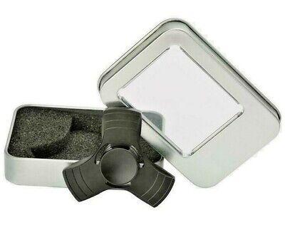 Hand Fidget Spinner Pro Super ALUMINUM Metal FInger Figit toy EDC with Box