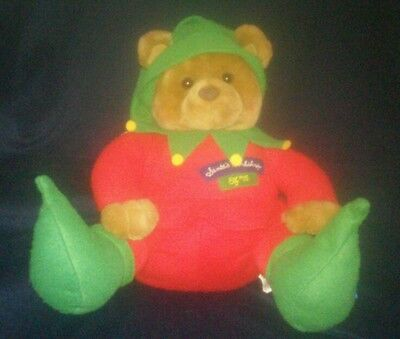 HALLMARK Santa's Workshop Elf #25 BEAR Plush