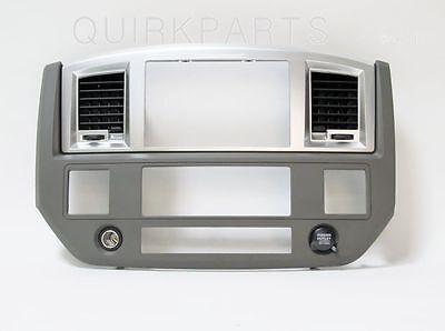 2006-2009 Dodge Ram Radio Dash Bezel DARK KHAKI MOPAR GENUINE OEM NEW